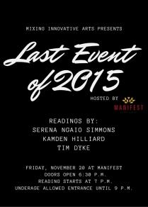 Last Event 2015