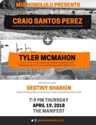 April 2018 MIA Flyer